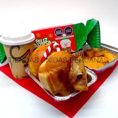 Desayuno por navidad | Desayunos Navideños - Cod:DNV02