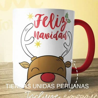 Desayunos Navideños | Peluche de Navidad en Taza  - Cod:DNV05