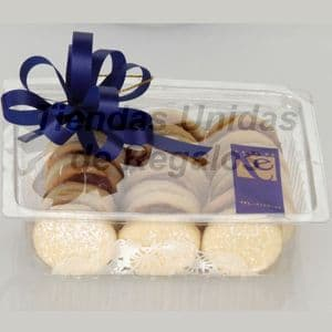 Grameco.com - Pack Gourmet 2 - Codigo:DPC02 - Detalles: Docena a de alfajores en cajita de regalo, finamente adornados con papel de regalo y cinta de agua. - - Para mayores informes llamenos al Telf: 225-5120 o 476-0753.