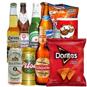 Deliregalos.com - Pack de Cervezas - Codigo:DPK09 - Detalles: Seleccion de cervezas personales nacionales e importadas que incluye: 4 cervezas nacionale, 4 cervezas importadas, Bolsa de Snack, Prigles Original. Tarjeta de dedicatoria.   - - Para mayores informes llamenos al Telf: 225-5120 o 476-0753.