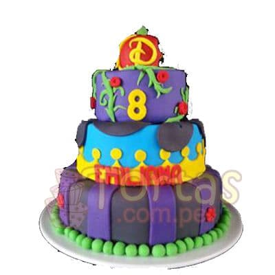 Tortas de los Descendientes | Pastel del Tema Descendientes - Whatsapp: 980-660044