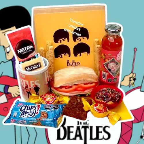 Envio de Desayunos | Desayuno the beatles - Cod:DSP18
