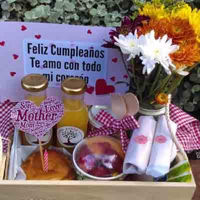 Desayunos Perú | El primer detalle | Desayuno Feliz dia Cumpleañero - Cod:DSP23