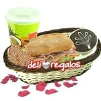 Dulce Sorpresa Desayunos | Desayuno en canasta para regalar - Cod:DSV13