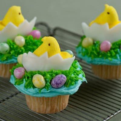 3 Cupcakes de Pascuas - Cod:EAS03