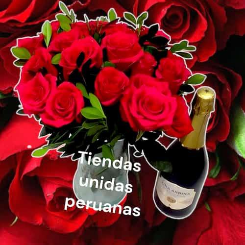 I-quiero.com - Flores 19 Vidrio - Codigo:ENL19 - Detalles: Lindo arreglo en florero de vidreio con flores de estacion. El presente incluye una tarjeta de dedicatoria. - - Para mayores informes llamenos al Telf: 225-5120 o 476-0753.