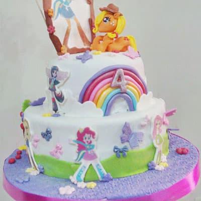 Torta equestria girls | Tortas infantiles | Torta Equestria girl 11 - Whatsapp: 980-660044