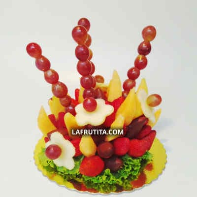 Frutas con Chocolate para Regalo - Cod:FCC06