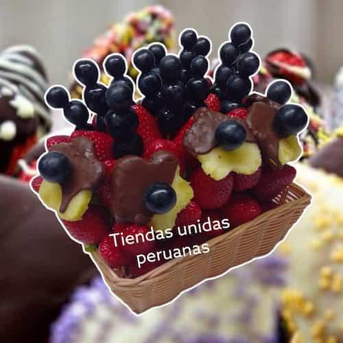 Frutero con Fresas Personalizado - Whatsapp: 980-660044