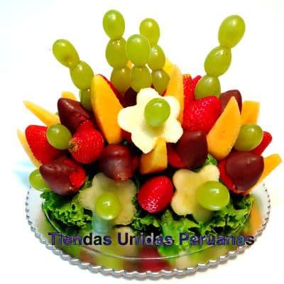 El Frutero Pedidos | Frutero con Frutas | Regalos a domicilio lima - Cod:FCC12