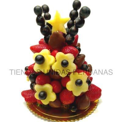 Chocolates a Domicilio | Frutas a domicilio | Frutillas Bañadas en chocolate a Domicilio - Cod:FCC06