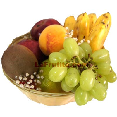 Canasta con Frutas | Canastas de frutas a Domicilio | Canastas de Frutas - Cod:FCC14