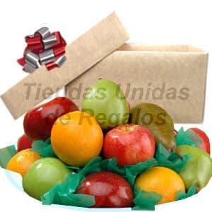 Regalos de frutas con Chocolate | Canasta de fruta para regalo - Cod:FCC15