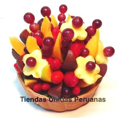 Frutero Especial en Canasta Grande - Cod:FCF12