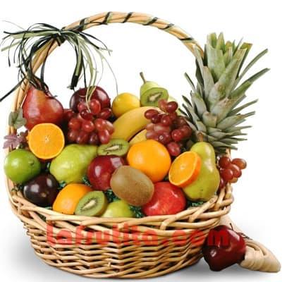 Frutero Grande | Fruteros Delivery | Frutero Grande en Canasta - Cod:FGR13