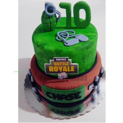 Torta Fortnite | Torta Tema Fortnite - Cod:FNC01