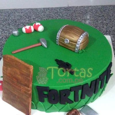 Pastel de Fortnite | Tortas fortnite juego video - Whatsapp: 980-660044