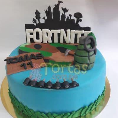 Torta Fornite especial | Diseños de Tortas de Fortnite - Whatsapp: 980-660044