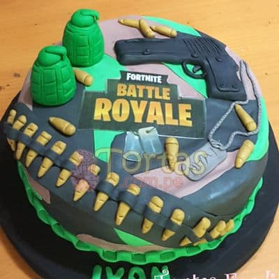 Torta Fortnite Battle Royale - Cod:FNC09