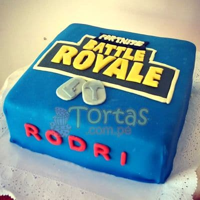Torta Battle Royale | Forta Fornite - Cod:FNC10