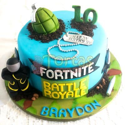 Torta Fortnite para el | Tortas de Fortnite - Whatsapp: 980-660044