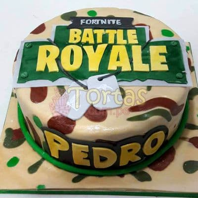 Torta de Fornite | Torta Battle Royale - Cod:FNC13