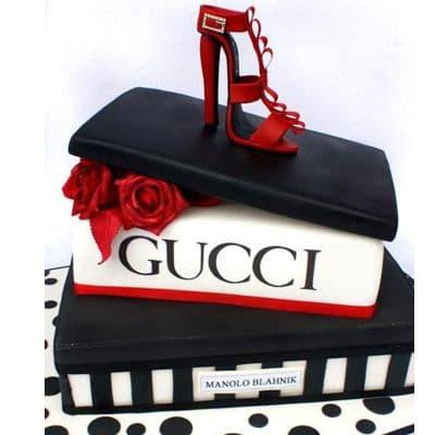 Torta Gucci con Zapato | Tortas Fashion - Cod:FSH01