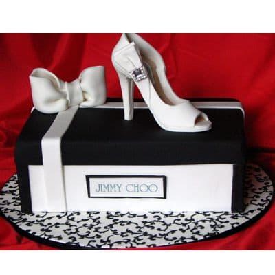 Torta caja de zapatos con Tacos | Tortas Fashion - Cod:FSH02