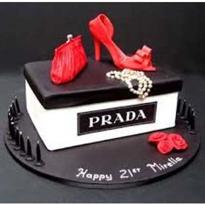 Torta Zapato Prada | Prada Cake | Cake lover | Cake | Cakes for women - Cod:FSH07