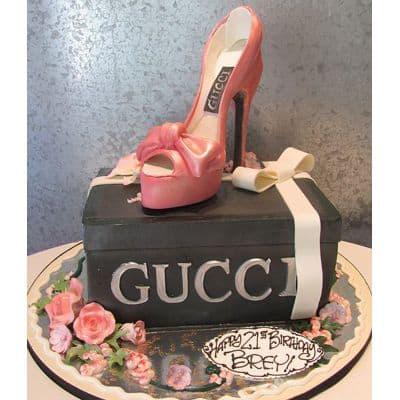 Torta Taco Gucci | Torta zapato GUCCI - Cod:FSH16