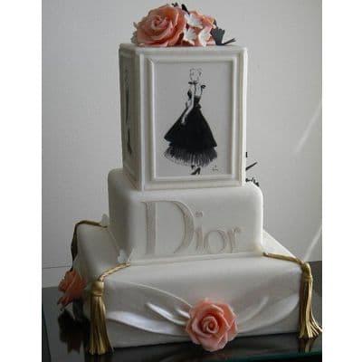 Torta Dior | TORTA de DIOR | Decoración de tortas, Pasteles hermosos - Cod:FSH20