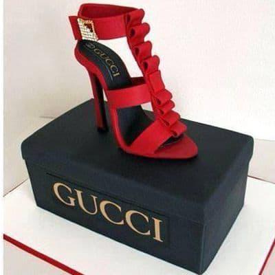 Torta Zapato Gucci | Torta Zapatos - Cod:FSH22