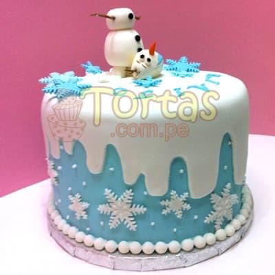 Torta tema Frozen - Cod:FSK02