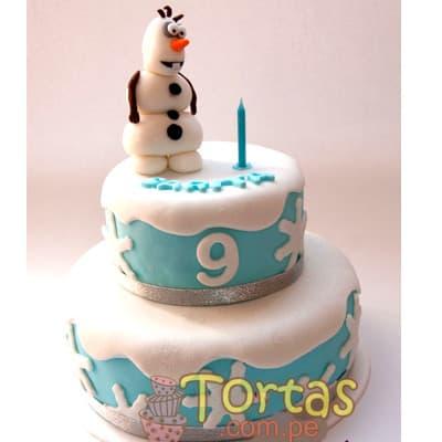 Torta frozen | Torta tematica Frozen - Whatsapp: 980-660044