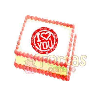 Foto-Torta comestible de 15x15cm - Cod:FTA10