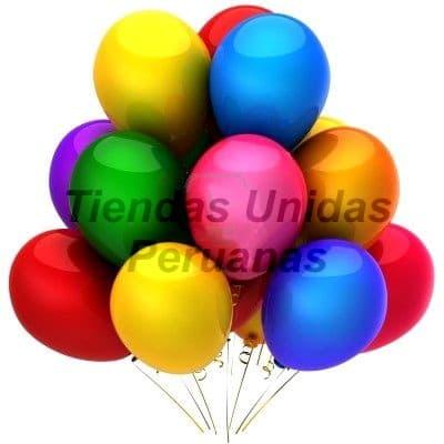 Diloconrosas.com - 3 Globos con Helio - Codigo:GBH09 - Detalles: 3 Lindos globos clasicos inflados con Helio. Un detalle super especial!!! - - Para mayores informes llamenos al Telf: 225-5120 o 476-0753.