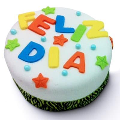 grameco.com - Deliciosa torta a base de keke de vainilla de medidas 10cm x 10cm, ba�ado de manjar blanco y finamente decorado con masa el�stica.   - Atendemos 24 horas. Llamar al 225-5120 o via Whatsapp: 980-660044
