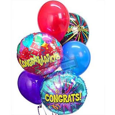 Tortas.com.pe - Bouquet de Globo 05 - Codigo:GBN05 - Detalles: Lindo detalle compuesto por 3  globos metalicos con helio, incluye globos multicolores, para ese momento tan especial. - - Para mayores informes llamenos al Telf: 225-5120 o 476-0753.