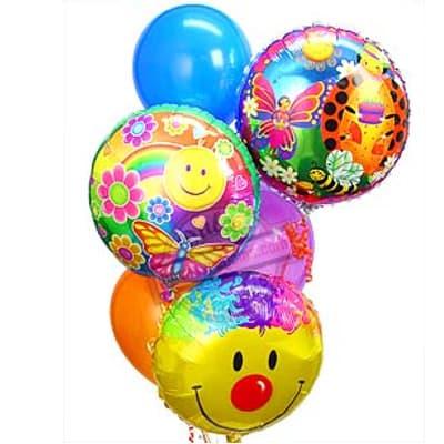 Bouquet de globo de Cara Feliz - Cod:GBN06