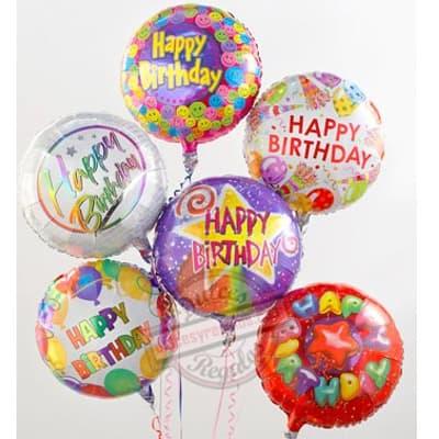 Bouquet de globo Feliz Cumpleaños - Cod:GBN10