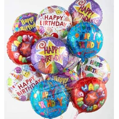 Bouquet de Globo Happy birthday - Cod:GBN11
