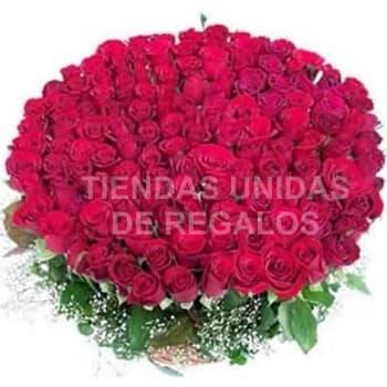 Arreglo con Rosas Gigante de 400 rosas - Cod:GCM08