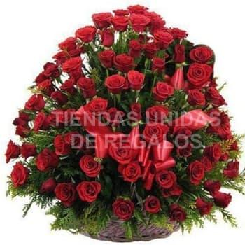 San Valentin Arreglo de 150 Rosas - Cod:SBR34