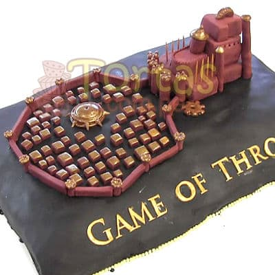 Torta Game Of Thrones | Tortas juego de Tronos - Cod:GFT01