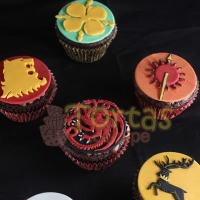 Cupcakes Game of Thrones - Cod:GFT06