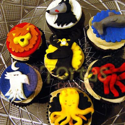 Cupcakes del Tema Game of Thrones - Whatsapp: 980-660044