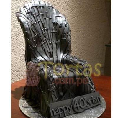 Tortas Game of Thrones | Torta Trono de Hierro - Cod:GFT10
