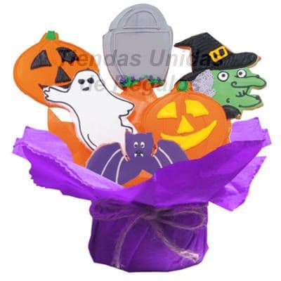 Galletas Decoradas Halloween - Cod:GLA08