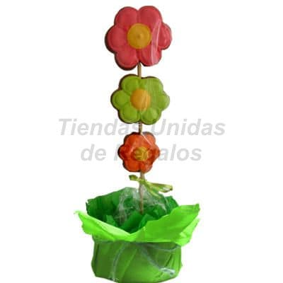 Galletas Decoradas en forma de Margaritas - Cod:GLA13
