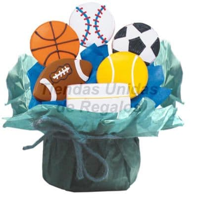 Galletas Decoradas de Deportes | Galletas Decoradas - Cod:GLA16